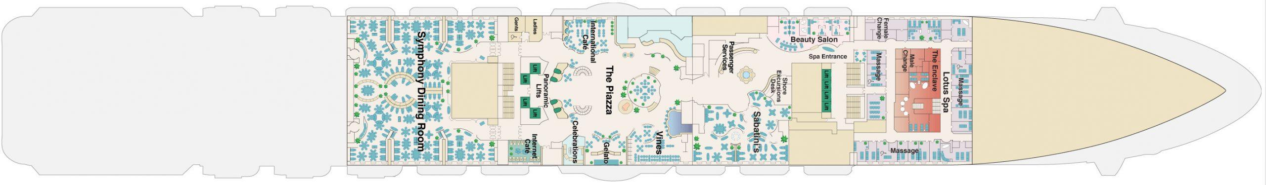 Deck 5 – Plaza
