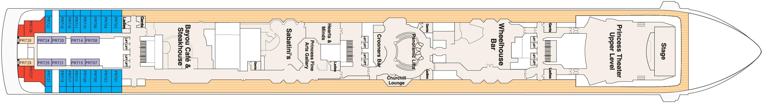 Deck 7 – Promenade