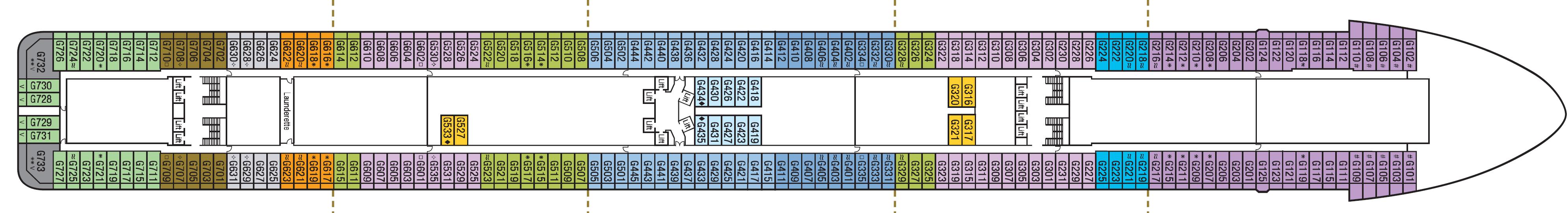 Deck 8 – G
