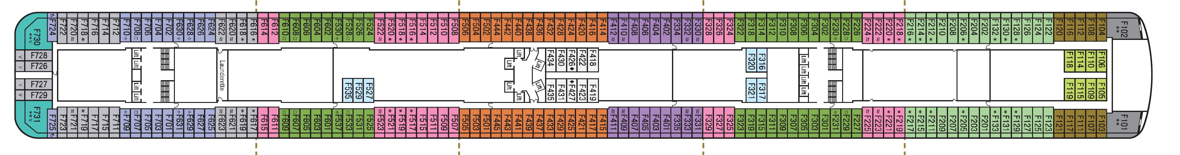 Deck 9 – F